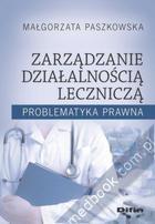 Studia Podyplomowe: Zarządzanie w ochronie zdrowia
